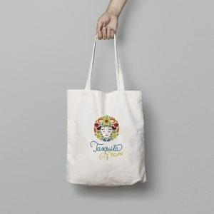 bolsa algodón la tasquita de mami